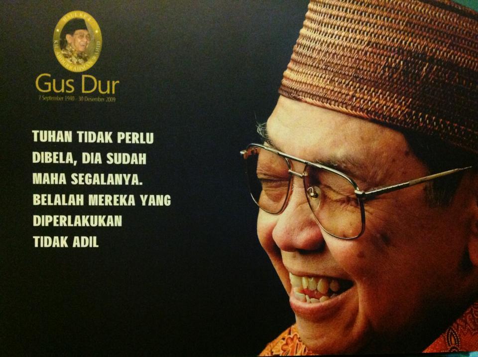 Kata Bijak Presiden Gus Dur